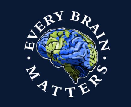 logo of brain that looks like globe