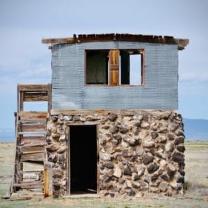 stone building in taos new mexico