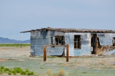 abandoned house in taos new mexico