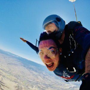 Wesley Dickson Recovery Hero skydiving
