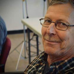 bob van guy with mustache
